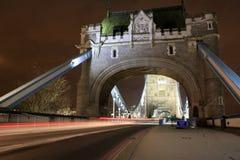 Puertas del puente de la torre Fotos de archivo