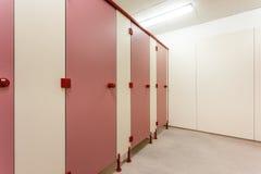 Puertas del retrete Foto de archivo libre de regalías