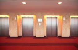 Puertas del `s del elevador Foto de archivo libre de regalías