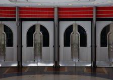 Puertas del teatro Fotos de archivo libres de regalías