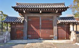 Puertas del templo Fotografía de archivo libre de regalías
