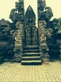 Puertas del templo en Bali Fotografía de archivo libre de regalías