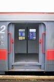 Puertas del tren Fotografía de archivo