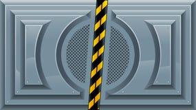 Puertas deslizantes. Foto de archivo libre de regalías