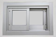 Puertas deslizantes de aluminio. Imagen de archivo