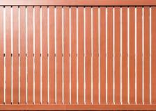 Puertas deslizantes de madera Fotografía de archivo