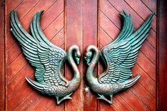 Puertas dobles foto de archivo libre de regalías