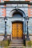 Puertas dobles Imágenes de archivo libres de regalías