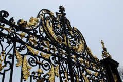 Puertas en el palacio de Kensington imagen de archivo libre de regalías