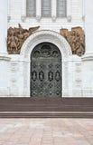 Puertas en el templo fotografía de archivo