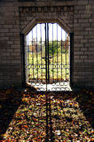 Puertas en la cerca Imagen de archivo