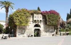 Puertas Farou - viejas puertas preservadas de la ciudad Imágenes de archivo libres de regalías