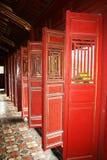 Puertas imperiales fotos de archivo