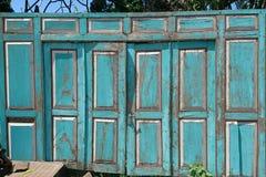 Puertas indonesias fotos de archivo