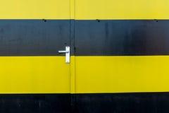 Puertas industriales Fotos de archivo libres de regalías