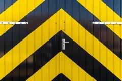 Puertas industriales Fotografía de archivo libre de regalías