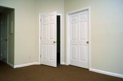 Puertas interiores Imágenes de archivo libres de regalías