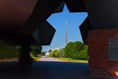 Puertas a la fortaleza de Brest Imágenes de archivo libres de regalías