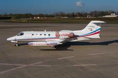 Puertas Learjet 35A Imágenes de archivo libres de regalías