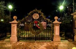 Puertas a los jardines de Boston Publick Fotos de archivo libres de regalías
