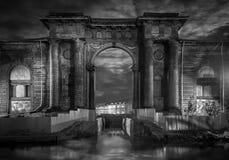 Puertas misteriosas a nueva Holanda Foto de archivo libre de regalías