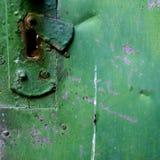 Puertas oxidadas viejas Imágenes de archivo libres de regalías