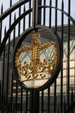 Puertas reales Imagen de archivo