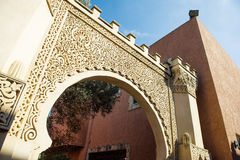 Puertas talladas Imagen de archivo