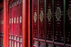 Puertas tradicionales del estilo chino imágenes de archivo libres de regalías