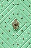 Puertas verdes foto de archivo libre de regalías