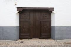 Puertas viejas Imagenes de archivo