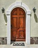 Puertas viejas de la vendimia Fotografía de archivo
