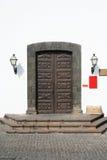 Puertas viejas del museo Foto de archivo