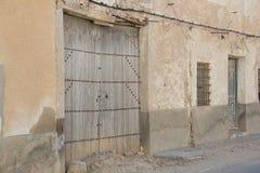 Puertas viejas 51 ventanas Στοκ Εικόνα