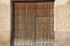 Puertas viejas 44 ventanas Στοκ Φωτογραφίες