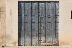 Puertas viejas 43 ventanas Στοκ Εικόνες
