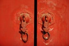 Puertas y botones Imagen de archivo libre de regalías