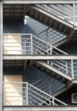 Puertas y escaleras Imagenes de archivo