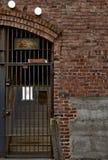 Puertas y ladrillo Imagen de archivo libre de regalías