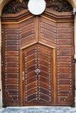 Puertas y puertas de madera antiguas Imagenes de archivo