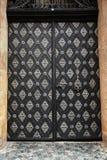 Puertas y puertas de madera antiguas Foto de archivo