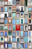 Puertas y puertas del puerto fotografía de archivo libre de regalías
