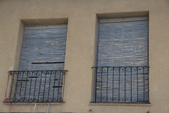 Puertas y ventanasviejas 22 royaltyfri fotografi