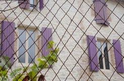 Puertas y Windows Foto de archivo libre de regalías