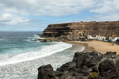 Puertito de los Molinos is a small village on Fuerteventura Royalty Free Stock Image