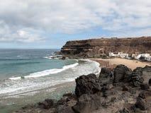 Puertito de los Molinos is a small village on Fuerteventura Stock Photo