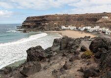 Puertito de los Molinos is a small village on Fuerteventura Stock Photography