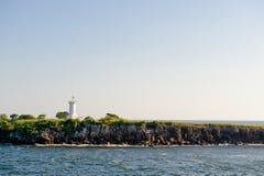 puerto маяка corinto Стоковые Изображения RF