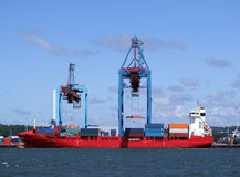 Puerto 09 de Gothenburg foto de archivo libre de regalías