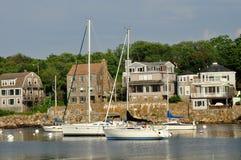 Puerto 2, mA de Rockport Imagen de archivo libre de regalías